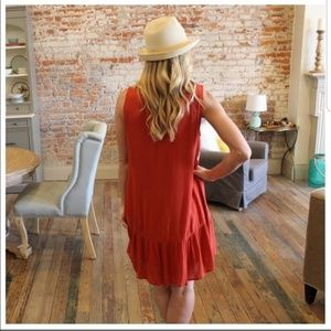 Infinity Raine Dresses - Boho dress with crochet trim